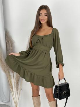 Šaty s viazaním v páse Andria 9990