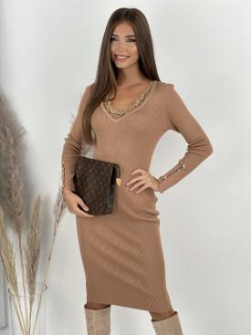 Šaty úpletové LACE 9862