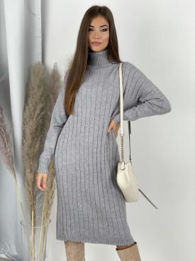 Šaty z jemného úpletu Alyss 88378