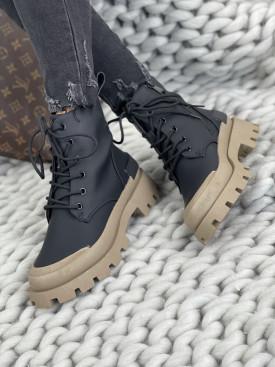 Topánky Casia UK71 čierne