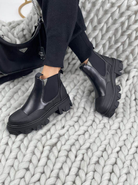 Topánky NC1250 Carroll čierne
