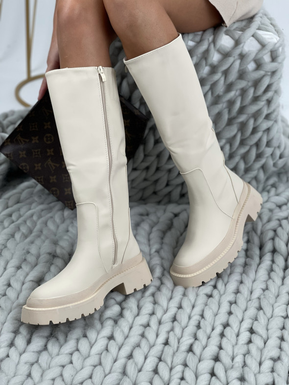 Topánky QT23 Vanessa béžové