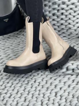 Topánky RB132 LESLIE béžové